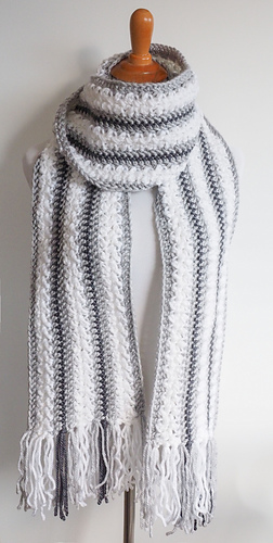 Ravelry Winter Wonderland Scarf Pattern By Jamey From Dabbles Babbles