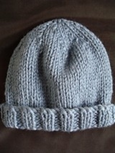 130eab94778 Ravelry  Child s beanie in 12ply pattern by Jennifer Lee