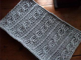 ravelry  crochet cabled cowl pattern by jen te reid  rh   ravelry