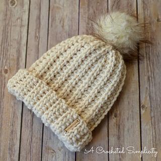 Ravelry  Knit-Look Super Bulky Slouch pattern by Jennifer Pionk 932b6d6681a