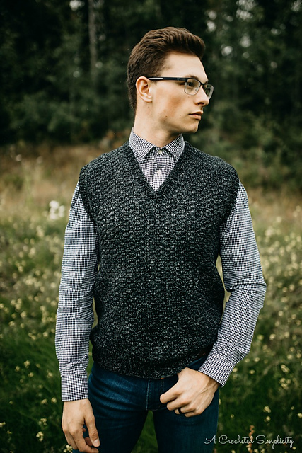 Ravelry Summit Mens Sweater Vest Pattern By Jennifer Pionk