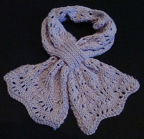 Ravelry Lacy Bowknot Scarf Pattern By Jennifer Jones