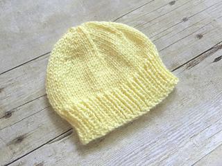 Ravelry Newborn Baby Hat To Knit Pattern By Jeris Swanhorst