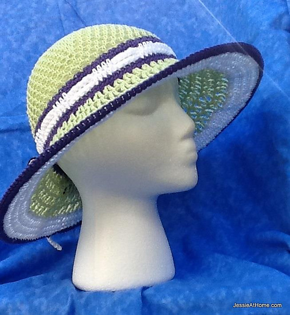 Ravelry Star Sun Hat Pattern By Jessie Rayot