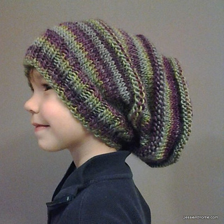 5cdbd862d62 Ravelry  Emily s Super Slouchy Knit Hat pattern by Jessie Rayot
