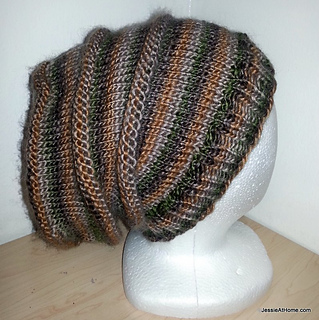 aa1a1848a8d Ravelry  Emily s Super Slouchy Knit Hat pattern by Jessie Rayot