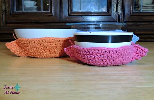 Ravelry Crochet Bowl Cozy Pattern By Jessie Rayot