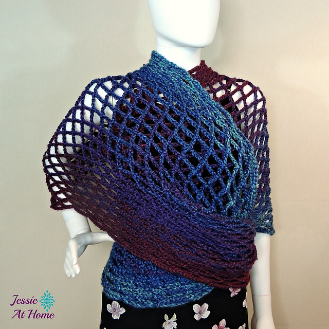 Ravelry Netties Super Simple Tube Wrap Pattern By Jessie Rayot