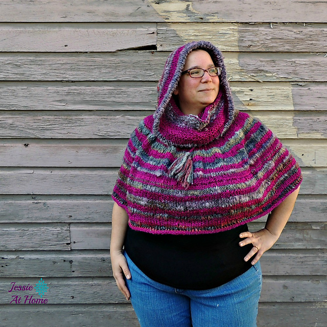 Ravelry: Magical Hooded Poncho pattern by Jessie Rayot