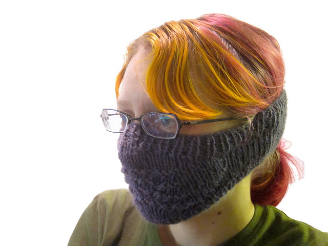 Ravelry Old Shale Face Warmer Pattern By Jonathan Beall
