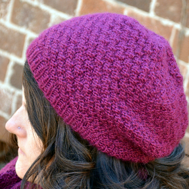 Ravelry Double Seed Stitch Knit Hat Pattern By Joan Laws
