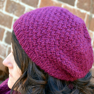 0255c798880 Ravelry  Double Seed Stitch Knit Hat pattern by Joan Laws