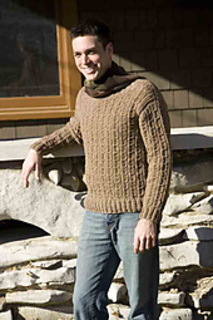 Ravelry Mens Crochet Mock Cable Sweater Pattern By Kim Guzman
