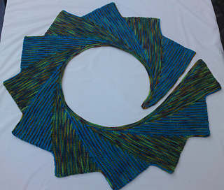 Ravelry Double Ended Tunisian Wingspan Pattern By Ryan Hollist