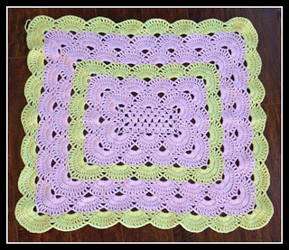 Ravelry Rectangle Virus Blanket Pattern By Jonna Martinez