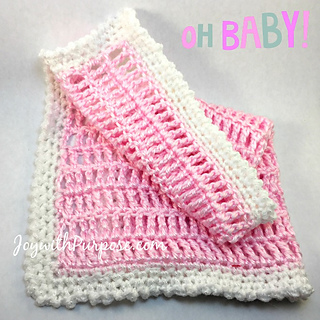 Ravelry Crocheted Baby Doll Blanket Pattern By Mary At Joywithpurpose