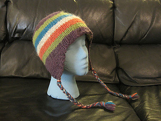 623d45738 Ravelry  Classic Ear Flap Hat pattern by Natasha Price