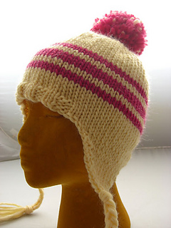Ravelry  Classic Ear Flap Hat pattern by Natasha Price a7c4b672648
