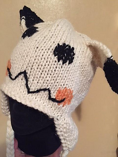 55b827aed5f Ravelry  Pokemon Go Mimikyu Hat pattern by The Knit Guru