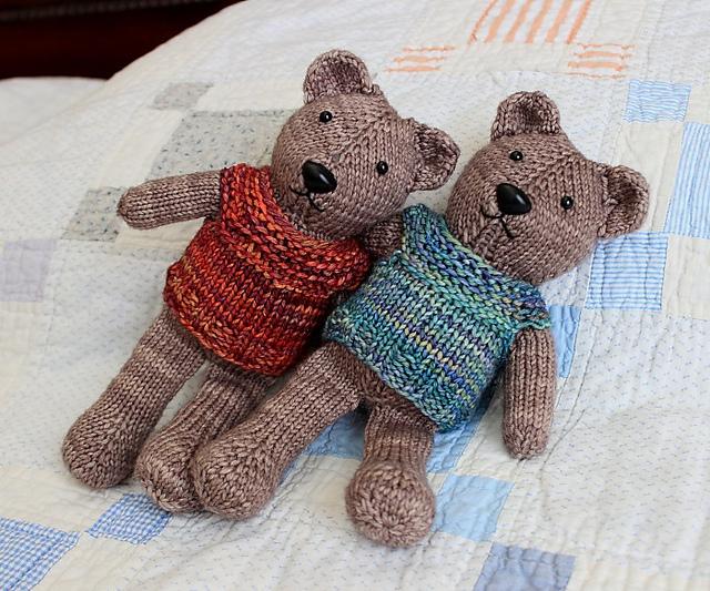 Ravelry Magic Loop Teddy Pattern By Julie Tarsha