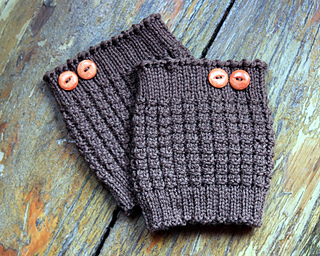 Ravelry Thermal Boot Cuffs Pattern By Julie Tarsha