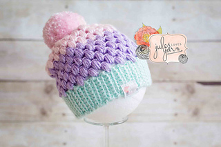 f287563c0 Cupcake Puff Hat pattern by Julie Schappert