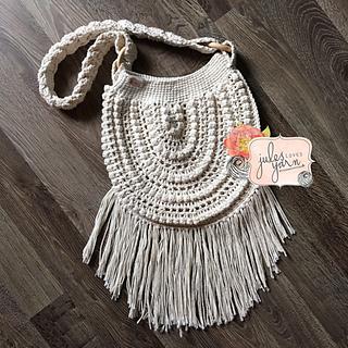 5fe243e67 Ravelry: Endless Summer Boho Bag pattern by Julie Schappert