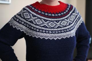 marius sweater opskrift