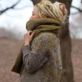 Bouquet sweater pattern by Junko Okamoto