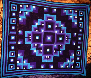 Ravelry mandala geometric crochet blanket pattern by toni andmarc dt1010fo