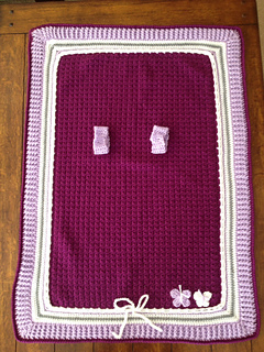 JustiWesthead & Ravelry: Basic Car Seat Tent pattern by Maria Vazquez