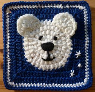 Ravelry polar bear square pattern by heather c gibbs dt1010fo