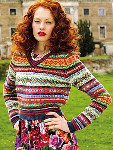 Ravelry Debbie Bliss Knitting Magazine FallWinter 40 Patterns Awesome Fair Isle Sweater Pattern