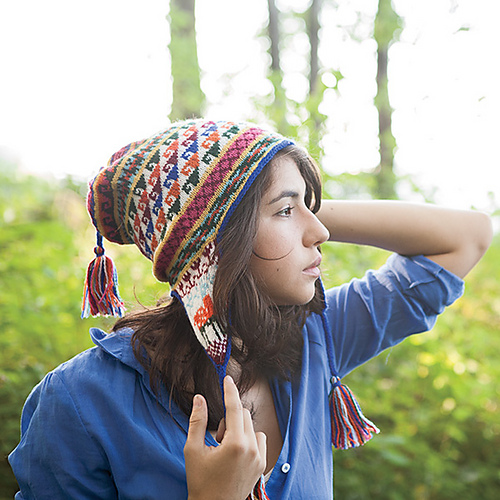 Ravelry Andean Chullo Hat Pattern By Kerin Dimeler Laurence