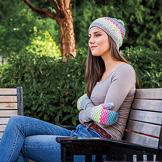d359df0daaa Ravelry  Simplicity Squared Hat   Mitts pattern by Lisa K. Ross
