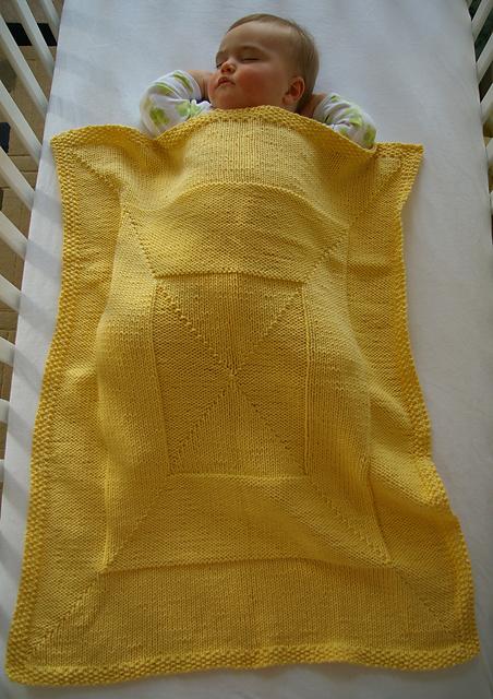 Ravelry Windowpane Baby Blanket Pattern By Katherine Vaughan