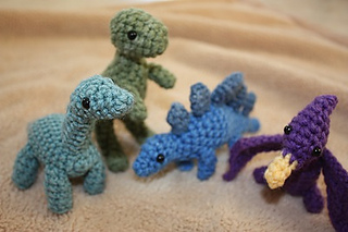 Ravelry Dinosaurs And Eggs Set Pattern By Becca De Kroon