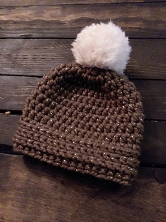 Ravelry: Double Faux Double Pom Toddler Hat pattern by Katherine Rombold