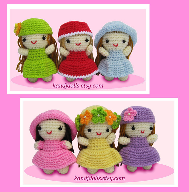 Ravelry Little Girls Pattern By Sayjai Thawornsupacharoen