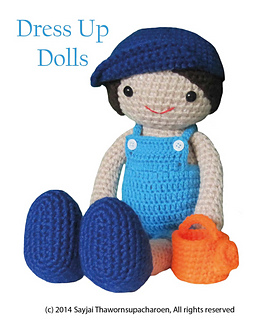 Ravelry dress up dolls amigurumi crochet patterns patterns boy doll dress up dolls dt1010fo
