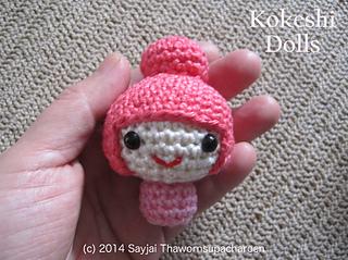 Amigurumi Kokeshi Doll Pattern : Ravelry: amigurumi kokeshi dolls pattern by sayjai thawornsupacharoen