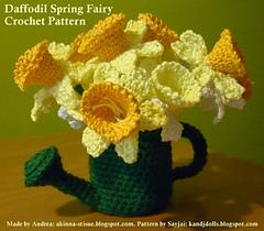 Ravelry: Daffodil Spring Fairy - Amigurumi pattern by ...