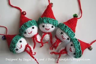 Amigurumi Christmas : Ravelry christmas amigurumi patterns