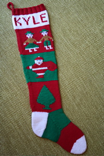 Ravelry Personalized Christmas Stocking Pattern By Rae P Burbank