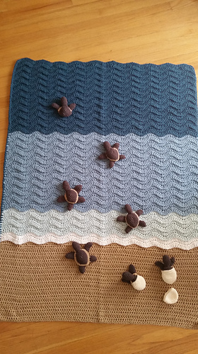 Ravelry Turtle Beach Pattern By June Gilbank
