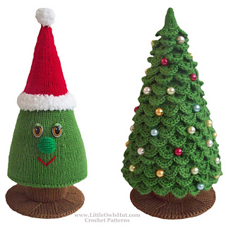 Ravelry 009 Christmas Tree Pattern By Littleowlshut