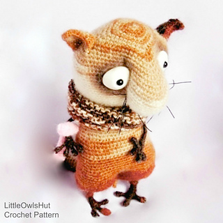 Ravelry 089 Funny Cat Amigurumi Pattern By Littleowlshut