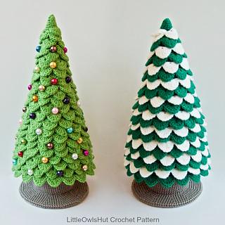Ravelry 085 Christmas Tree New Year Pattern By Littleowlshut