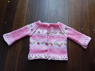 dac40756b Ravelry  Mini Maxine Baby Cardigan Jacket pattern by marianna mel