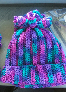 Ravelry Delaney Hat Spiral Beanie Pattern By Danyel Pink